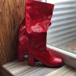 GoGo Boots Red